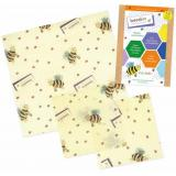 Bienenwachstuch 3er Kids Set