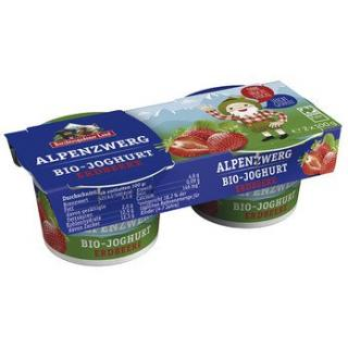 Kinderjoghurt Alpenzwerg Erdbeere