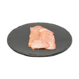 Wurst vom Schwein Lachsschinken,roh in Scheiben