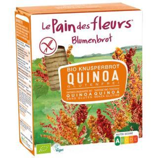 Blumenbrot Quinoa glutenfrei