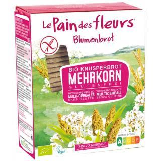 Blumenbrot Mehrkorn glutenfrei
