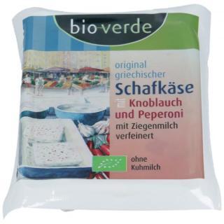 Schafkäse m. Knobl.+Peperoni