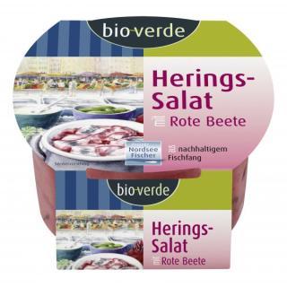 Herings-Salat Rote Bete