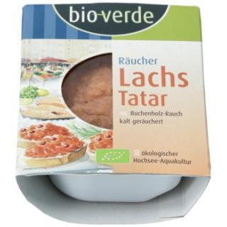 Räucherlachs-Tatar