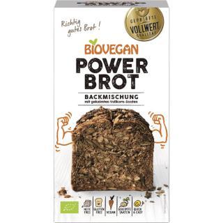 Brotbackmischung Power glutenfrei