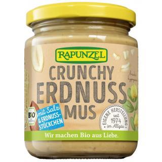Erdnussmus Crunchy m. Salz