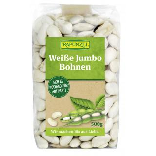 Jumbo-Bohnen weiß