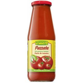 Passata in der Flasche