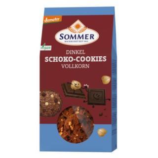 Dinkel Schoko Cookies-Vollkorn