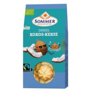 Dinkel Kokos Plätzchen vegan