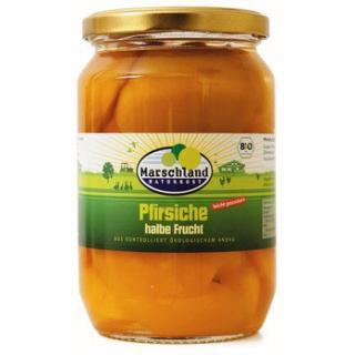 Pfirsiche halbe Frucht