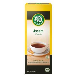 Assam Schwarztee Blatt