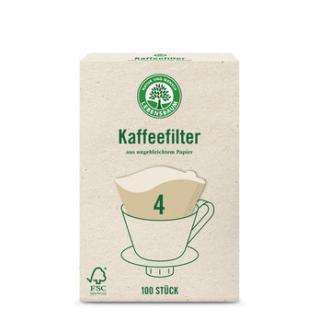 Kaffeefilter ungebleicht Gr.4
