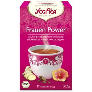Yogi Tee Frauen Power 17TB