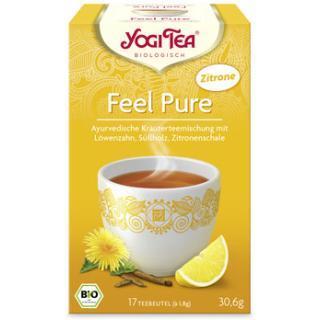 Yogi Tee Detox mit Zitrone 17 TB