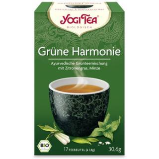 Yogi Tee Grüne Harmonie 17TB