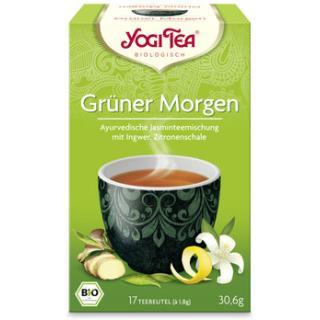 Yogi Tee Grüner Morgen Tee 17 TB