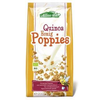 Quinoa Honig Poppies