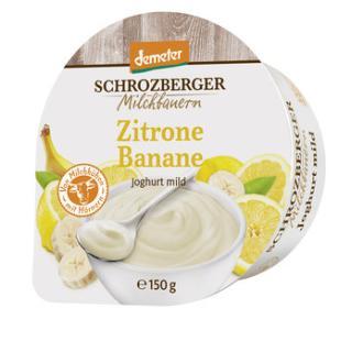 Joghurt Zitrone Banane 3,5%