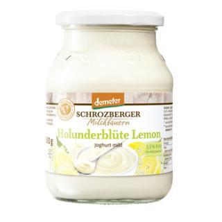 Frühlings-Joghurt  Holunderblüte-Lemon 3,5%