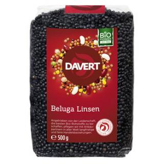 Beluga Linsen, schwarz