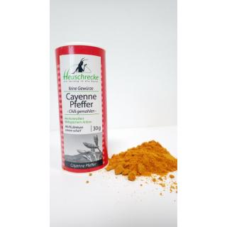 Cayenne Pfeffer, Chili, Bird´s eye, gemahlen