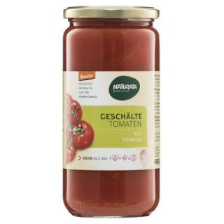 Tomaten geschält im Glas
