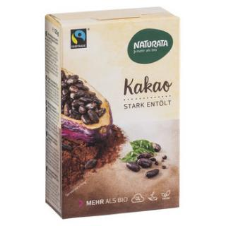 Kakao-Pulver, stark entölt