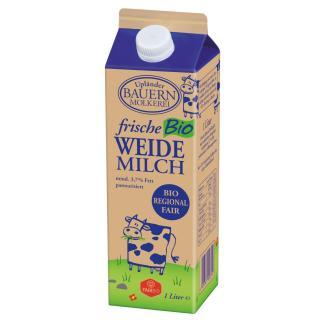 Faire Milch  3,7 %,  im Karton