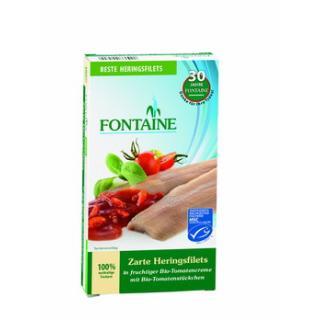 Heringfilets in Tomatencreme
