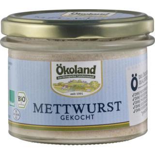 Gourmet Mettwurst gekocht  im Glas