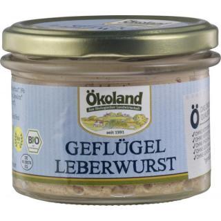 Geflügel Leberwurst Gourmet Qualität im Glas