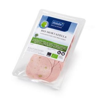 Geflügel - Mortadella mit Pistazie, 80 g