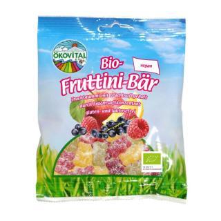 Bio-Fruttini Bär ohne Gelatine