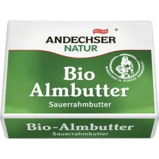 Sauerrahm Butter Alm Andechser