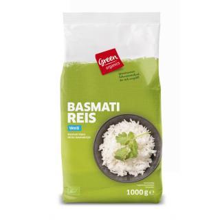 Echter Basmati weiß    Green