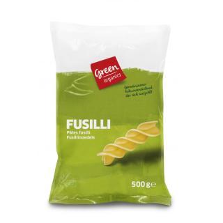 Fusilli hell, Green