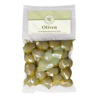 Griech. Oliven mit Mandeln gef