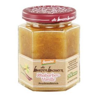 Beerenbauern Rhabarber Vanille Fruchtaufstrich