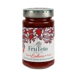 Fruchtaufstrich ohne Zucker Erdbeere