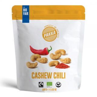 Cashews, Chili, bio & fair, 100g