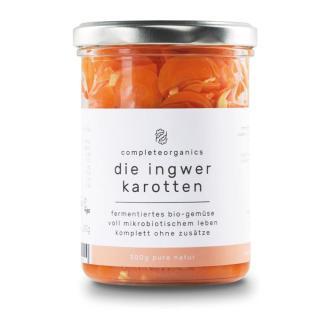 Die Ingwer Karotten